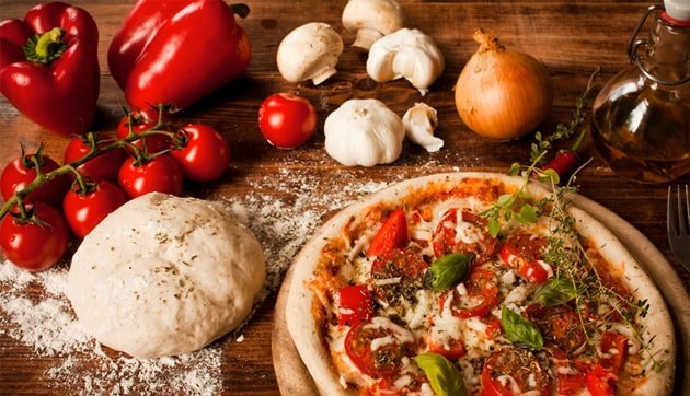 our food pizza image